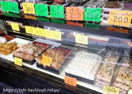 伊勢屋本店 八王子 和菓子2