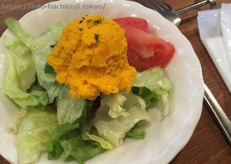 山中亭 ランチ サラダ