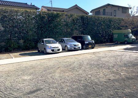 本立寺 駐車場