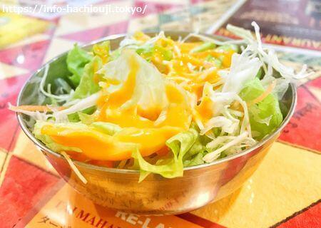 高尾カレー店 ムナル サラダ