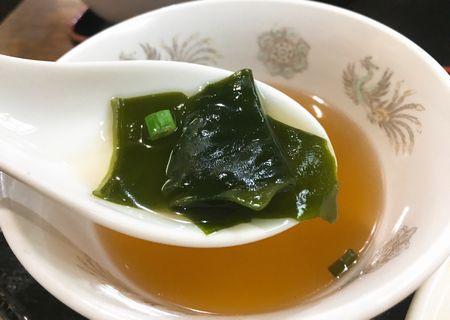 天狗飯店 やみつき麻婆豆腐 スープ