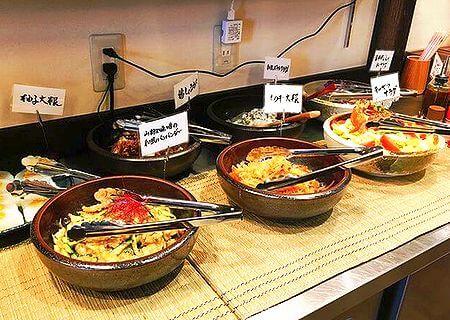 和風カレー専門店がじゅまるの杜 お惣菜バイキング