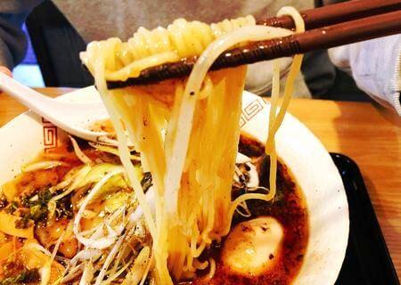 中華そば松葉みそ 細麺
