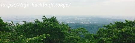 高尾山 かすみ台展望台
