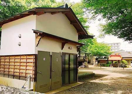多賀神社 八王子 トイレ