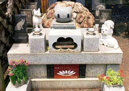 萌え寺 了法寺 ペットのお墓