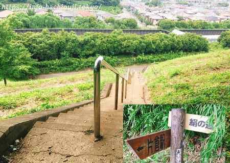 絹の道(八王子市鑓水) 鑓水峠