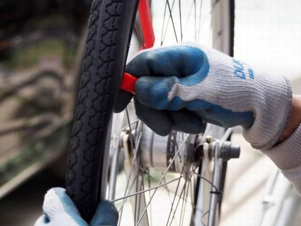 自転車 修理