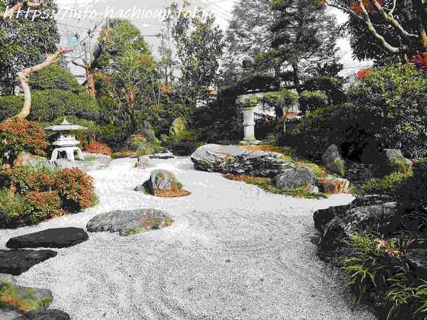 高尾駒木野庭園 枯山水
