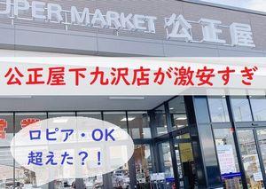公正屋下九沢店 激安スーパー 相模原